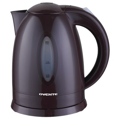 Ovente 1.79- qt. Cord-Free Brushed Electric Kettle