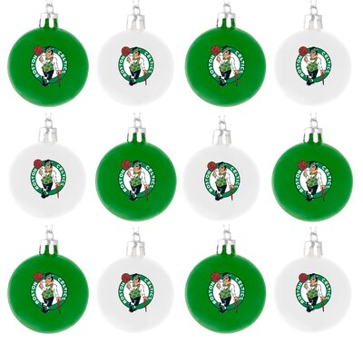 Forever Collectibles NBA Plastic Ball Ornament (Set of 12)