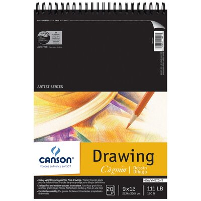 Canson C A Gain Artist Series Drawing Paper
