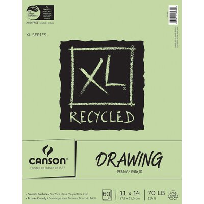 Canson Xl Recycled Recycled Drawing Pads