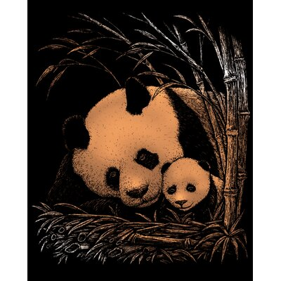 Royal & Langnickel Panda and Baby Art Engraving