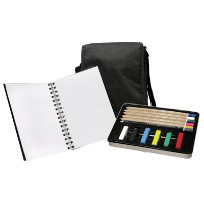 Royal & Langnickel Pastel Pencil Satchel Art Set