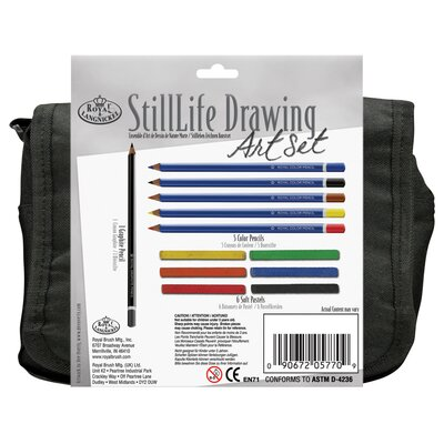 Royal & Langnickel StillLife Drawing Satchel Art Set