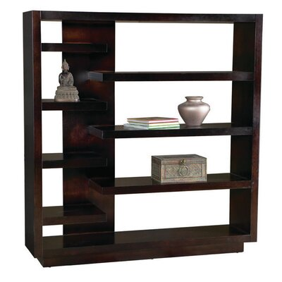Leda Furniture Lounge 7 Shelf Staggered Wall Display