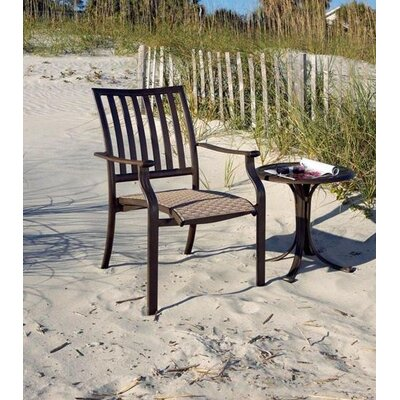 Panama Jack Outdoor Island Breeze Stacking Dining Arm Chair