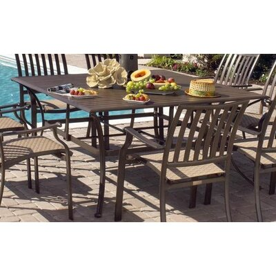 Panama Jack Outdoor Island Breeze Square Dining Table