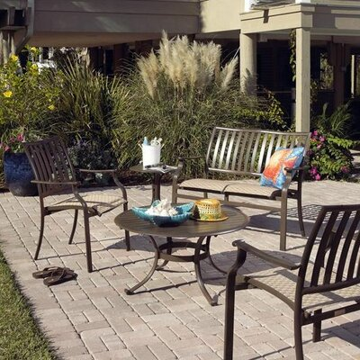 Panama Jack Outdoor Island Breeze 5 Piece Lounge Seating Group