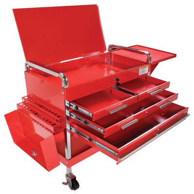 Power Station 4 Drawer Locking Service Cart