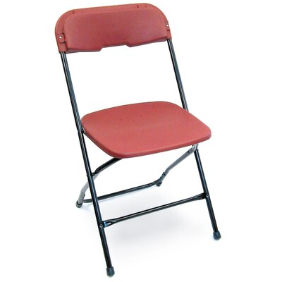 McCourt Manufacturing Series 5 Plastic Folding Chair