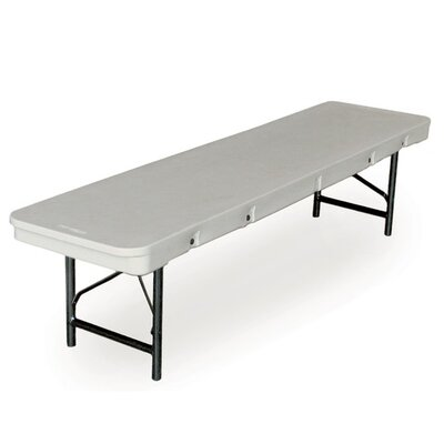"McCourt Manufacturing Commercialite 96"" Plastic Folding Table"