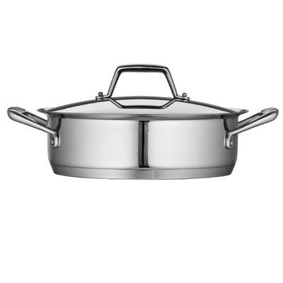 Tramontina Gourmet Prima 3 Qt Covered Casserole with Tri-Ply Base