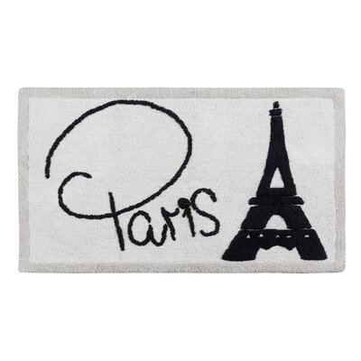 Creative Bath I Love Paris Bath Rug