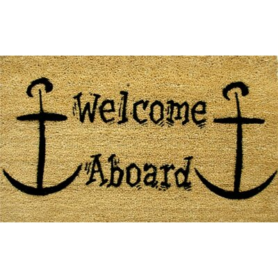 Welcome Aboard Doormat