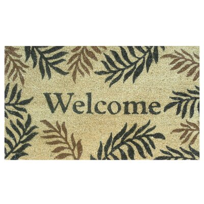 Home & More Fern Welcome Doormat