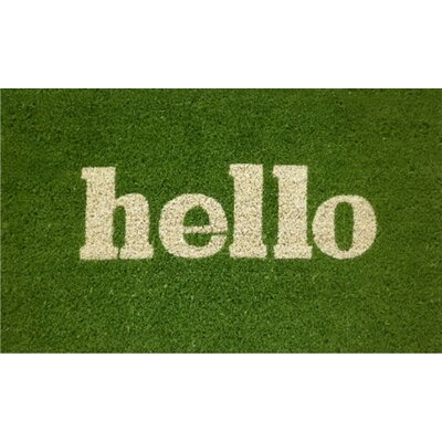 Home & More Hello Doormat
