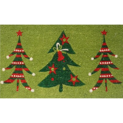 Home & More Christmas Trio Doormat