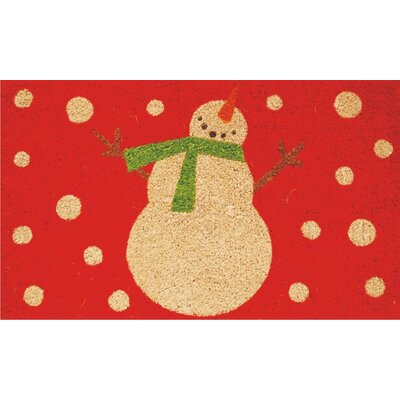 Home & More Holiday Snowman Doormat