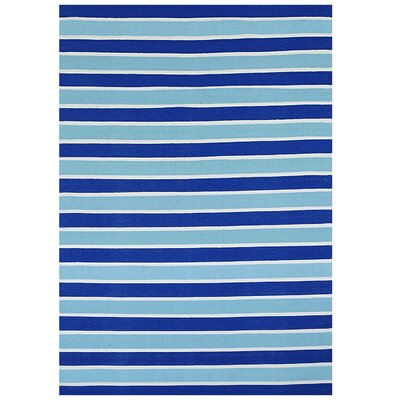 Blue Stripe Rug