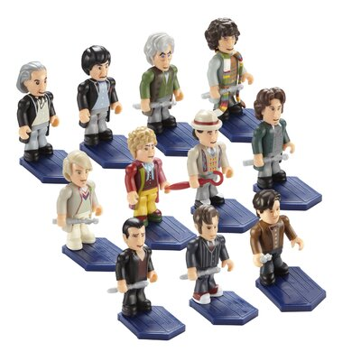 Underground Toys Doctor Who Doctor Action Figure 11 Piece Set
