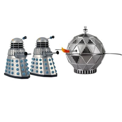 Underground Toys Doctor Who Chase Action Figure Set