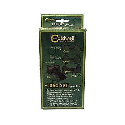 Caldwell 4 Piece Rear Shooting Bag Set