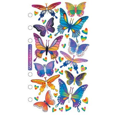 Sticko Foil Butterflies Sticker