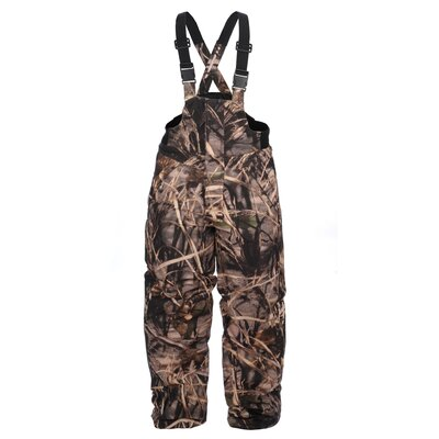 Lucky Bums Kid's Insulated Max4 Waterfowl Bibs
