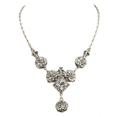 Harlequin Swarovski Crystal Necklace
