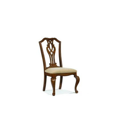 Legacy Classic Furniture Evolution Pierced Splat Back Fabric Side Chair