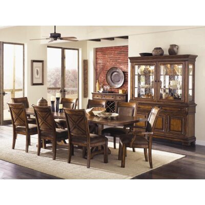 Legacy Classic Furniture Larkspur China Cabinet in Distressed Burnished Caramel