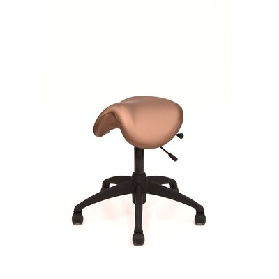 Lifeform Height Adjustable Saddle Stool