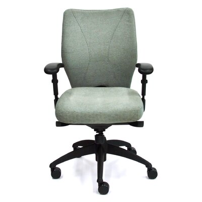 High-Back Staal Executive Chair with Arms