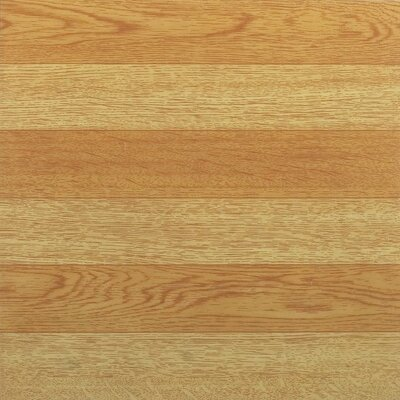 "Achim Importing Co Nexus 12"" x 12"" Vinyl Tile in Light Oak"