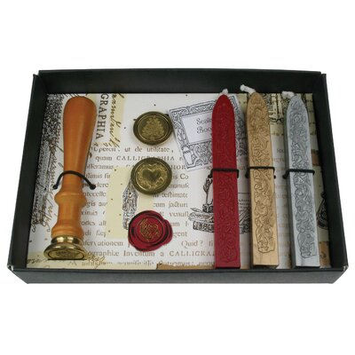 Manuscript Seal and Wax Set