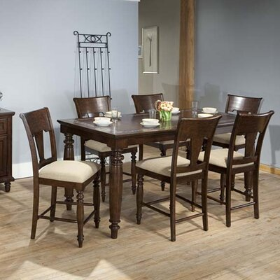 ECI Furniture 7 Piece Counter Height Dining Set