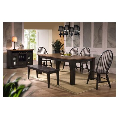 <strong>ECI Furniture</strong> Acacia 6 Piece Dining Set
