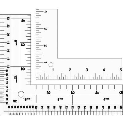 Lance Standard L-Square Aluminum Ruler