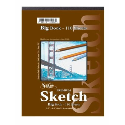 Seth Cole Premium Sketch Tape Top Big Book (55 Sheets)