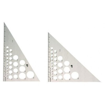 Fairgate Aluminum 45° 90° Triangle
