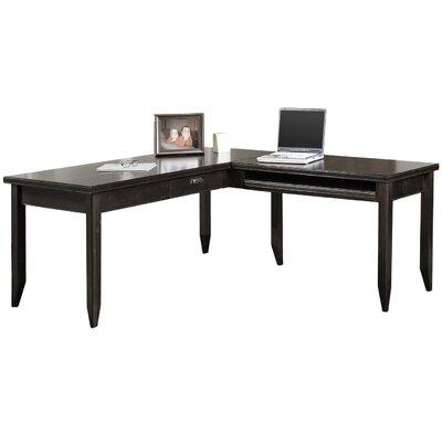 kathy ireland home by martin furniture tribeca loft l shaped writing desk reviews wayfair. Black Bedroom Furniture Sets. Home Design Ideas