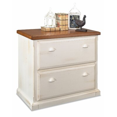 kathy ireland Home by Martin Furniture Southampton Oyster Lateral File