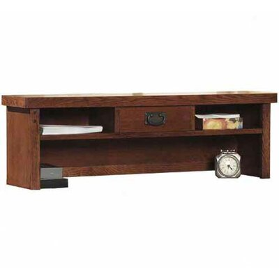 "kathy ireland Home by Martin Furniture Mission Pasadena Office 13.25"" H x 42"" W Desk Hutch"