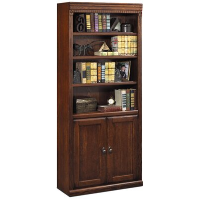 "kathy ireland Home by Martin Furniture Huntington Oxford 72"" H Bookcase with Lower Doors"
