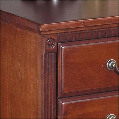 kathy ireland Home by Martin Furniture Double Pedestal Executive Desk