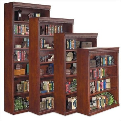 "kathy ireland Home by Martin Furniture Huntington Club 84"" H Seven Shelf Bookcase"