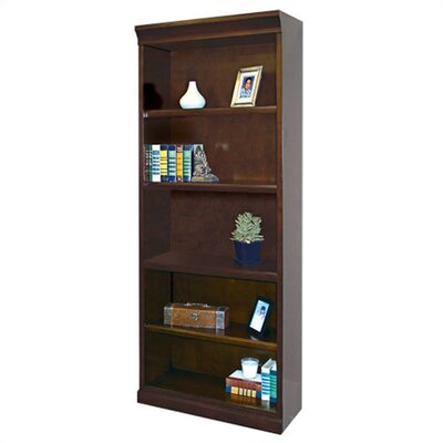 kathy ireland Home by Martin Furniture Fulton Open 5 Bookcase