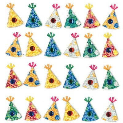Jolee's Boutique Repeats Party Hat Stickers