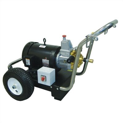 3.7 GPM / 3000 PSI 3 Phase Cold Water Electric Pressure Washer
