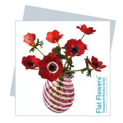 Oots Flat Flowers Greetings in Anemone