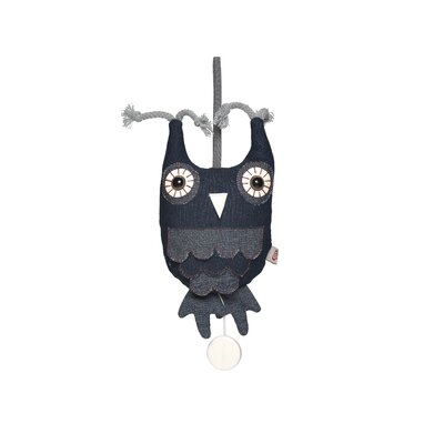 Esthex Hendrik the Owl with Music Box